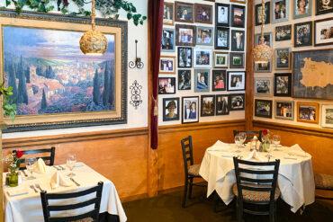 Pietros Italian Restaurant - Inside of Restaurant